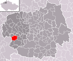 Location of Klapý