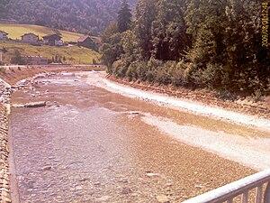 Littau - Kleine Emme river at Littau