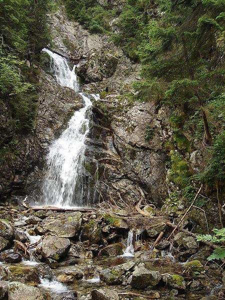 Kmeťov vodopád - najvyšší vodopád na Slovensku