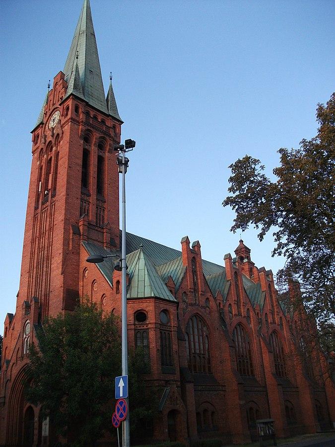 Saint Andrew Bobola's Church in Bydgoszcz