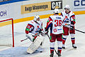 Kolesnik, Flood and Apalkov 2012-09-08 Amur—Lokomotiv KHL-game.jpeg