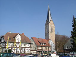 Korbach, Germany. St. Nikolai church.