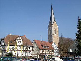Korbach - Saint Nicholas Church
