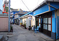Korea-Heuksando-port back streets 11-02865.JPG