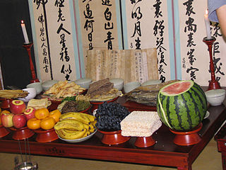 Chuseok major harvest festival in Korea celebrated on the 15th day of the August of the lunar calendar