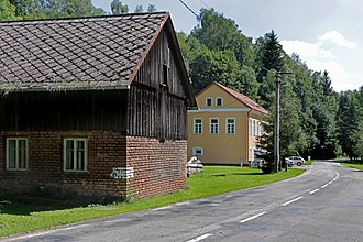 Kounov (Rychnov nad Kněžnou District) - Image: Kounov, road No 309