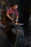 Blacksmith in Macedonia