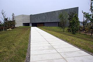 Kagawa Prefectural Higashiyama Kaii Setouchi Art Museum Museum in Sakaide, Japan
