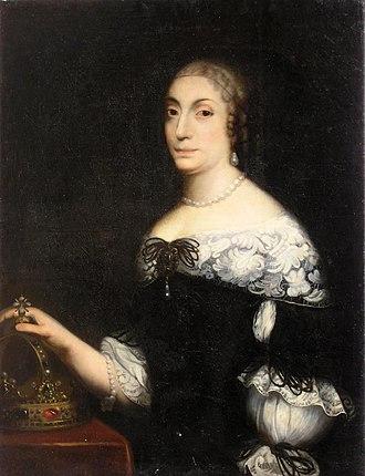 Marie Louise Gonzaga - Image: Królowa Ludwika Maria