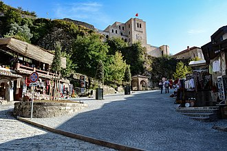 Albanians - The city of Krujë served as the royal seat of the Principality of Arbanon.