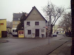 Kościan - Image: Krzywy Dom na ulicy Masztalerza 1