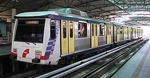 Ampang Line - An Adtranz-Walkers EMU trainset