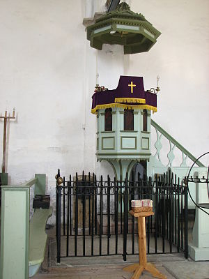 Duchess Augusta of Brunswick-Wolfenbüttel - Augusta Grave in Kullamaa Church.