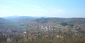 Kuršumlija - Panoramic view on Kuršumlija