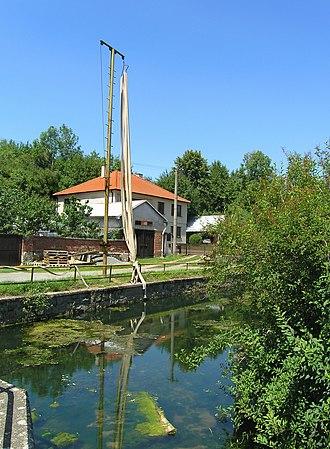 Bousov - Image: Kurvice Creek, Bousov 2