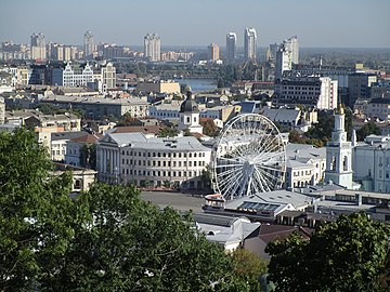 Kyiv - Kontractova square morning.jpg