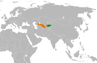 Diplomatic relations between the Kyrgyz Republic and the Republic of Uzbekistan