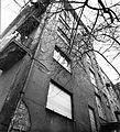 Lónyay (Szamuely) utca 39-b sz. ház udvara a Gálya utca felől. Fortepan 17303.jpg