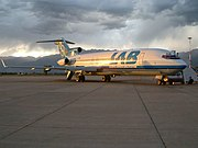 LAB Airlines B727-200 (CP-1366) at Jorge Wilstermann International Airport