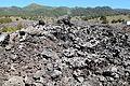 La Palma - El Paso - Calle Tamanca - Lava from Llano del Banco 18 ies.jpg