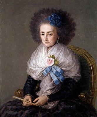 José Álvarez de Toledo, Duke of Alba - Image: La marquesa viuda de Villafranca por Francisco de Goya