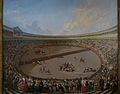 La plaza partida, Eugenio Lucas Velázquez, 1853-1855.jpg