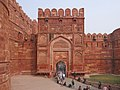 La porte Amar Singh (Fort Rouge, Agra) (8513103379).jpg