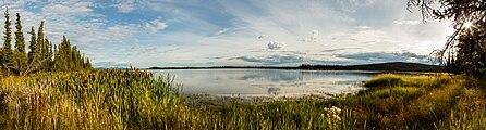 Lago Midway, Refugio Nacional de Vida Silvestre Tetlin, Alaska, Estados Unidos, 2017-08-24, DD 54-58 PAN.jpg