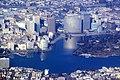 Lake Merritt and uptown Oakland aerial view, December 2017.JPG