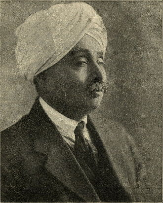 Lala Lajpat Rai - Photo of Rai printed in the February 1920 issue of Young India.