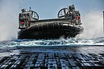 Landing Craft Air Cushion (LCAC) enters the well deck of the USS New Orleans (LPD-18).JPG