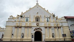 Façade of Laoag Cathedral