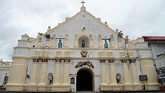 Laoag - Image: Laoag Church facade