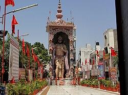 Largest HanumanJi at Phillaur.JPG