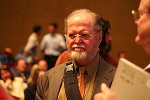 Larry Niven - Niven at Stanford University, 2006