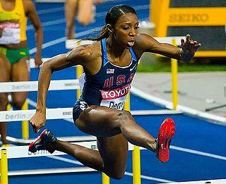 American female Olympic 400m hurdler