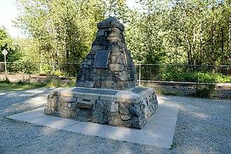 Last Spike (Canadian Pacific Railway) - Last Spike monument