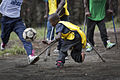 Launching of a soccer school by MONUSCO Urugayan peacekeepers in Don Bosco college Goma (14061364591).jpg
