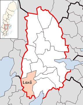Laxå Municipality in Örebro County.png