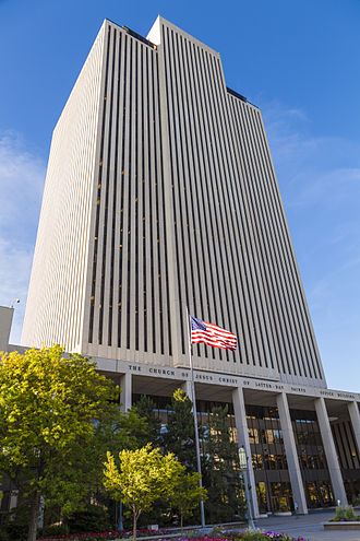 Church Office Building - Image: Lds church office building