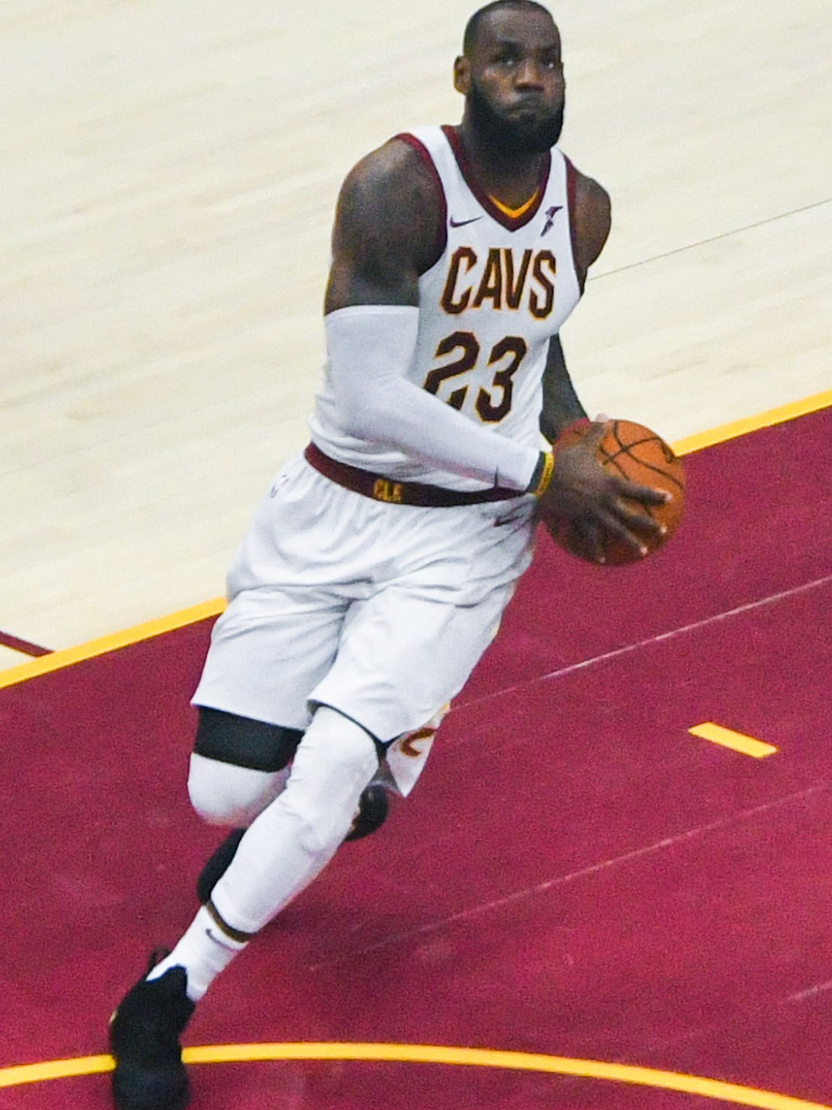 pretty nice 532c9 24913 LeBron James - Wikipedia, la enciclopedia libre