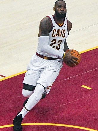 2018 NBA Finals - LeBron James of the Cleveland Cavaliers