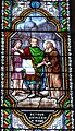 Le Bugue église vitrail St Alexis (1) détail (1).JPG