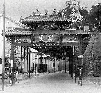 Lee Garden - Lee Garden in 1920s