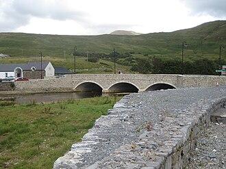 Leenaun - Image: Leenaun Bridge 2009