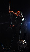 Legion of the Damned, Twan van Geel at Party.San Metal Open Air 2013.jpg