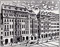 Leipzig Katharinenstr. 14-16, Stich um 1720.JPG