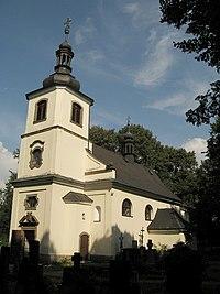 Letohrad Kunčice , kostel svaté Kateřiny.jpg