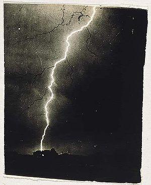 English: Lightning 1882
