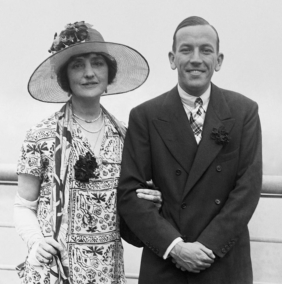 Lilian Braithwaite & Noël Coward